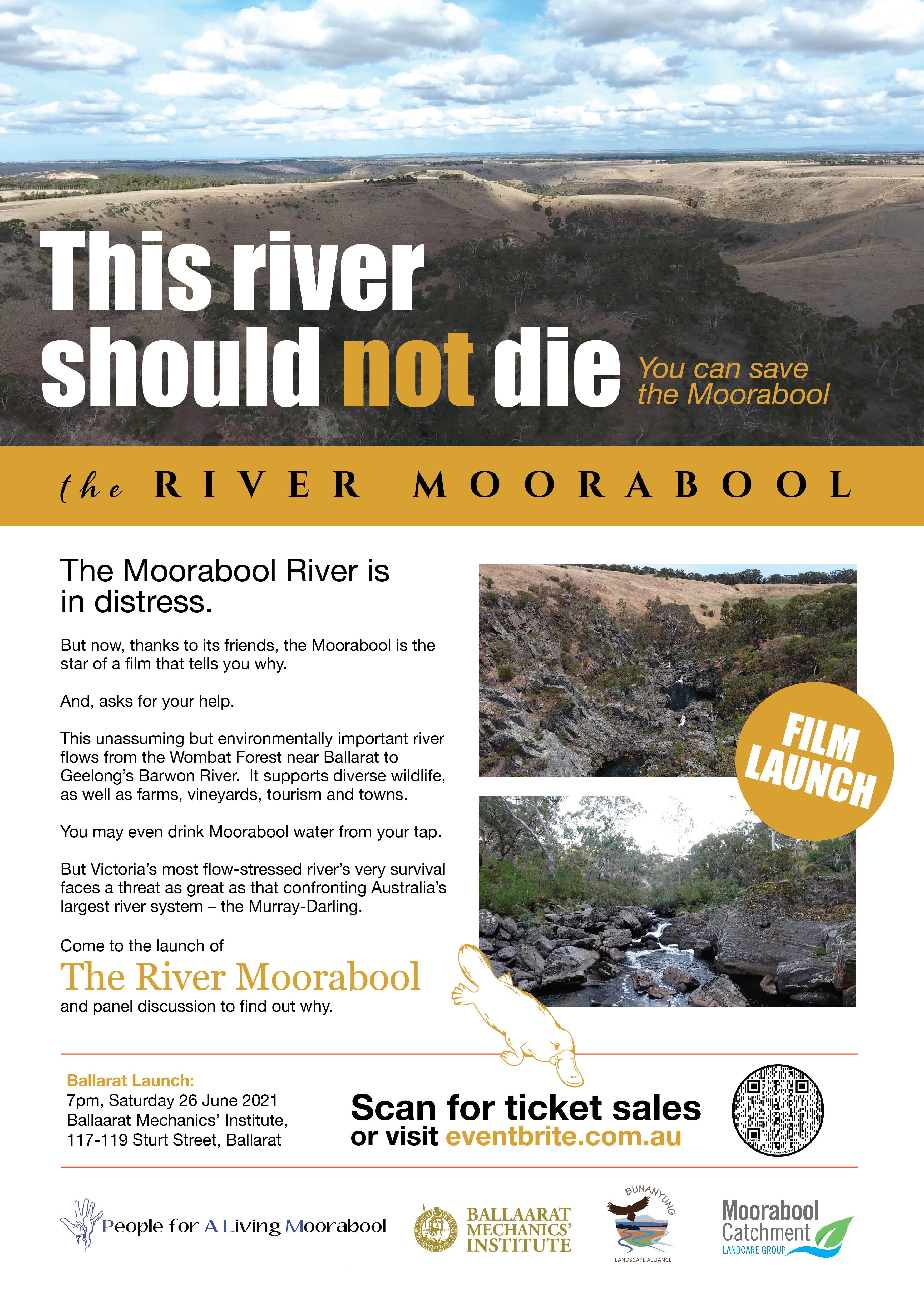 Morrabool River Film Poster Ballarat