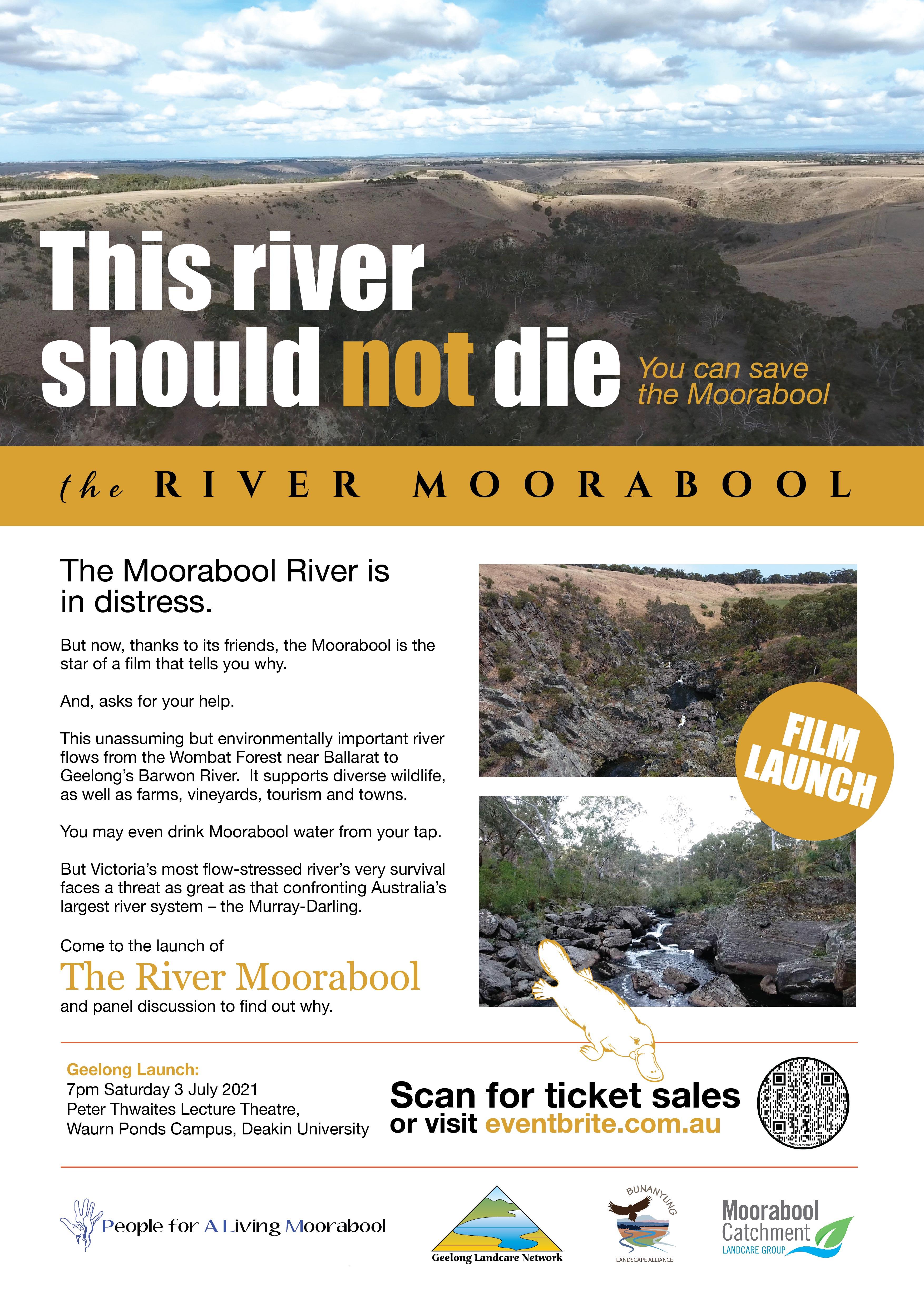 Morrabool River Film Poster Geelong